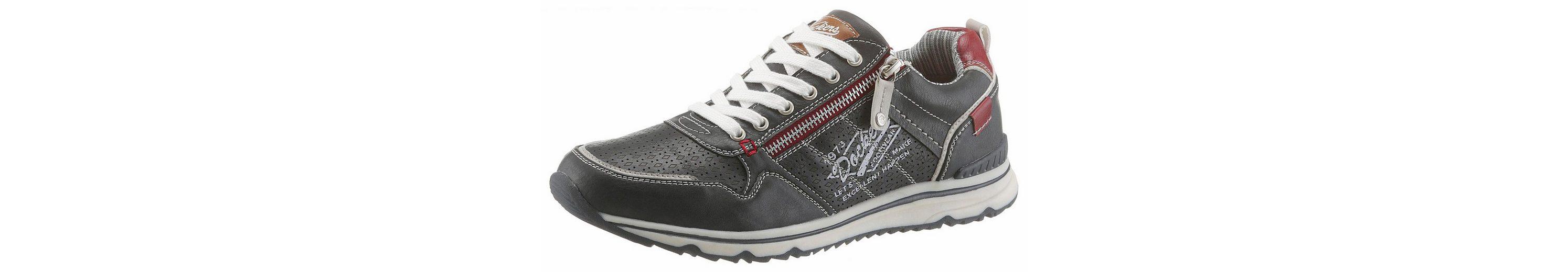 Dockers by Gerli Sneaker, mit trendigem Außenreißverschluss