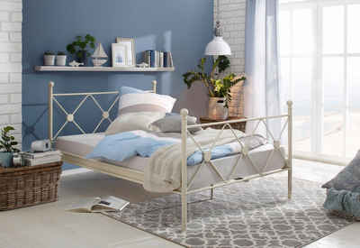 Metallbett weiß 140x200  Metallbett 140x200 cm online kaufen | OTTO