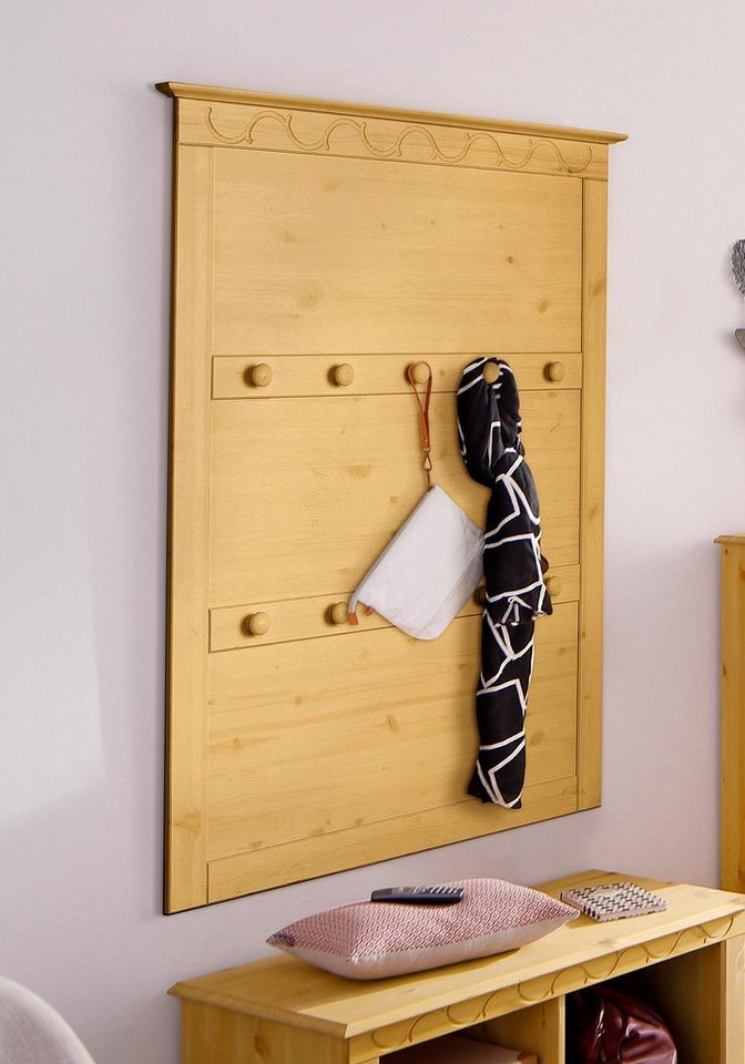 home affaire garderobe laura mit 10 haken breite 80 cm online kaufen otto. Black Bedroom Furniture Sets. Home Design Ideas