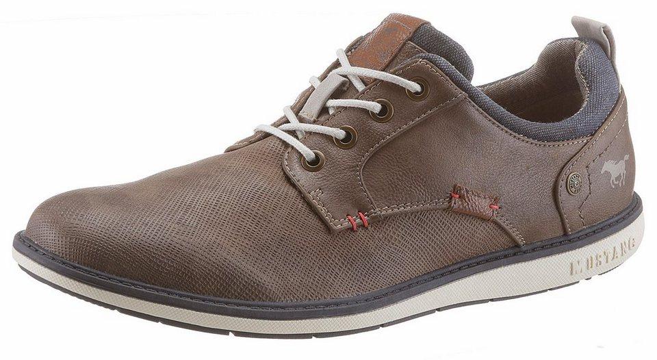 6bc8acff7a Mustang Shoes Schnürschuh mit feiner Strukturierung online kaufen | OTTO
