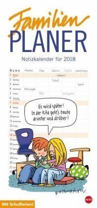 Kalender »Butschkow Familienplaner - Kalender 2018«