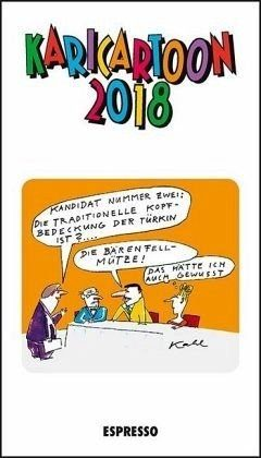 Kalender »Karicartoon 2018«