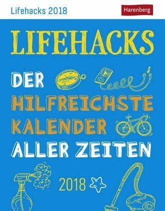 Kalender »Lifehacks - Kalender 2018«