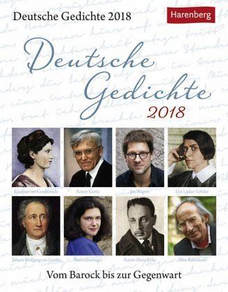 Kalender »Deutsche Gedichte 2018«