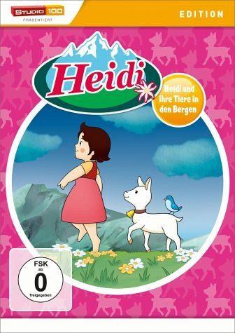 DVD »Heidi - Heidi und ihre Tiere in den Bergen«