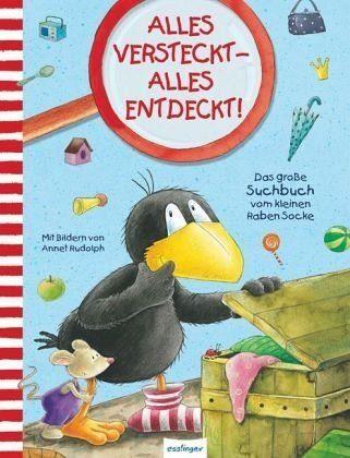 Buch mit Papp-Einband »Der kleine Rabe Socke: Alles versteckt - alles...«