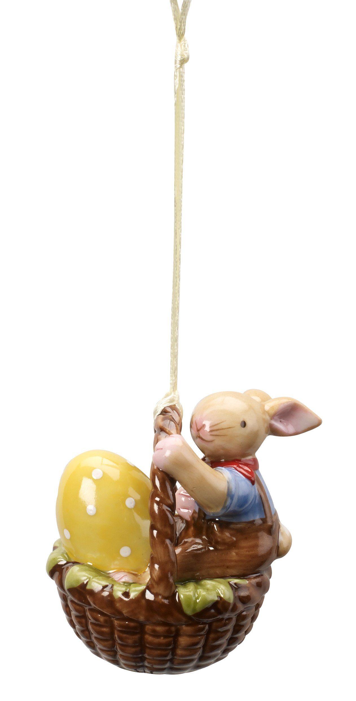 Villeroy & Boch Ornament Korb mit Junge »Spring Decoration«