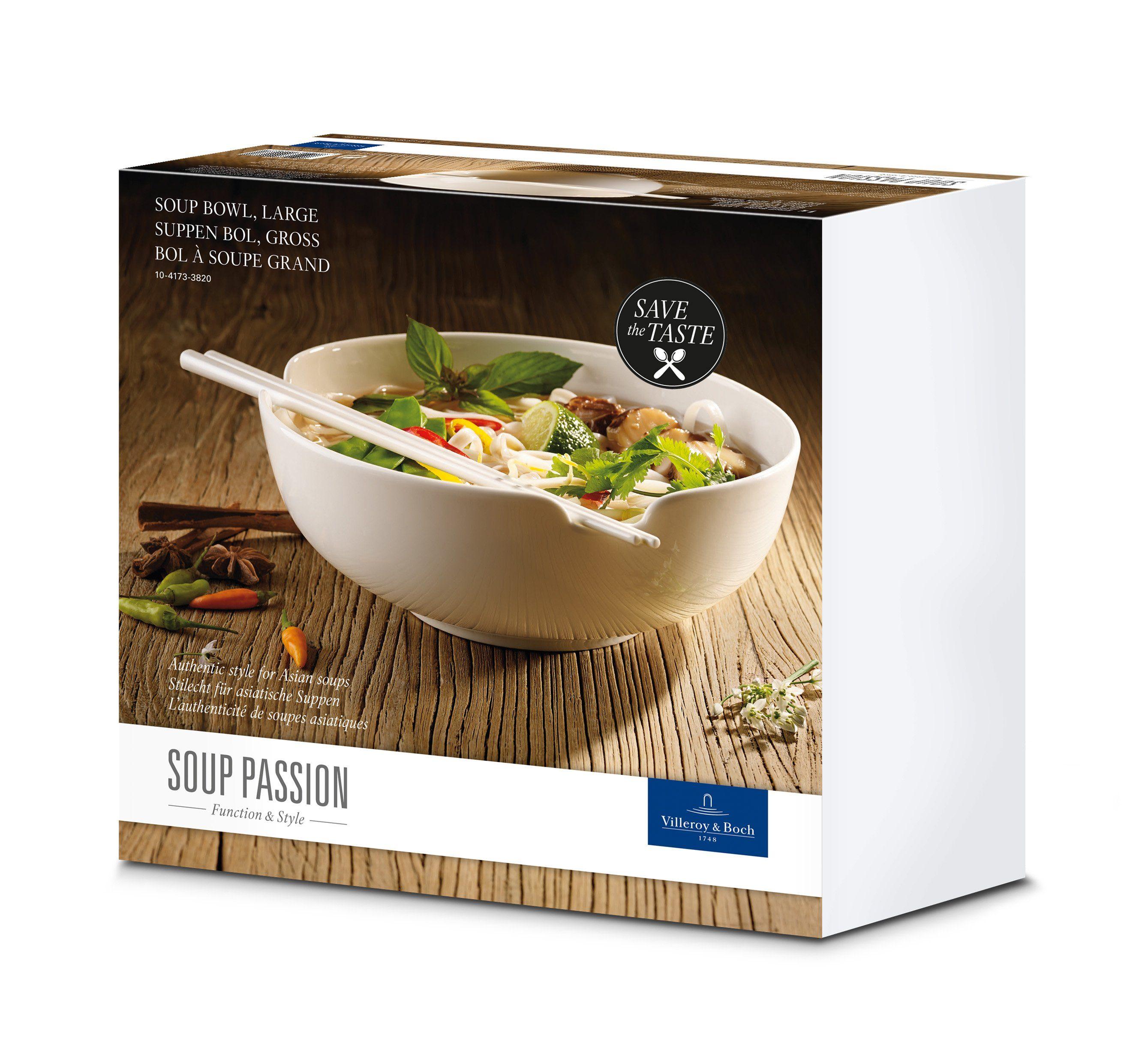Villeroy & Boch Suppenschale groß 20,5cm »Soup Passion«