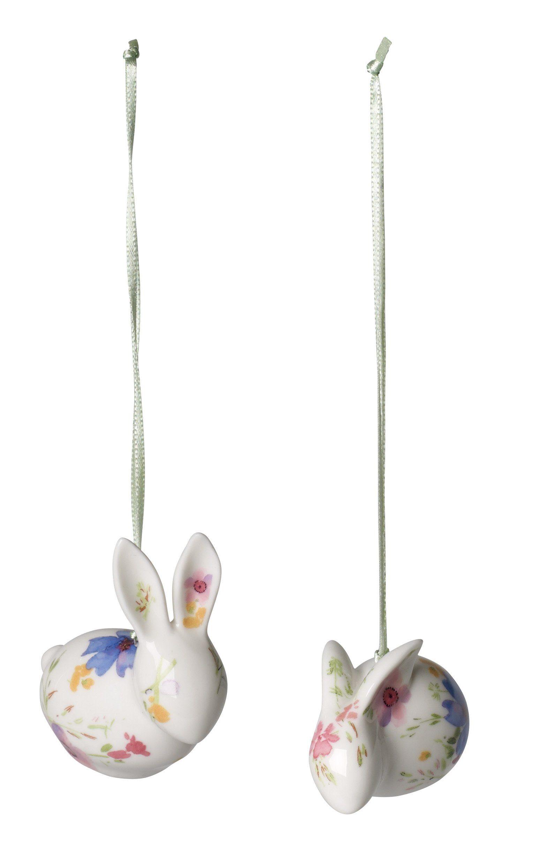 Villeroy & Boch Ornament Hase 2-teilig »Mariefleur Spring«