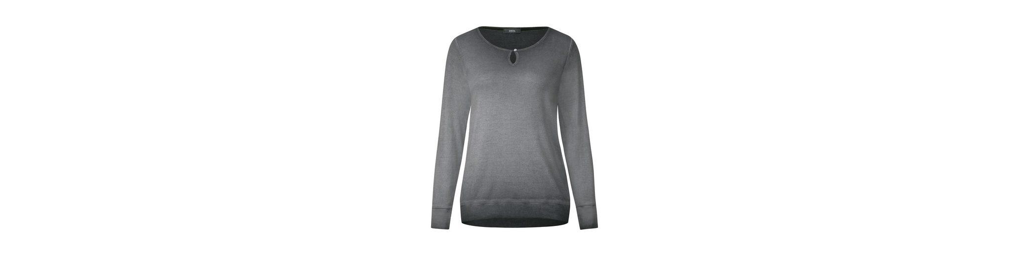 CECIL Gewaschenes Rippshirt Mode Zum Verkauf aIg4DPxZ