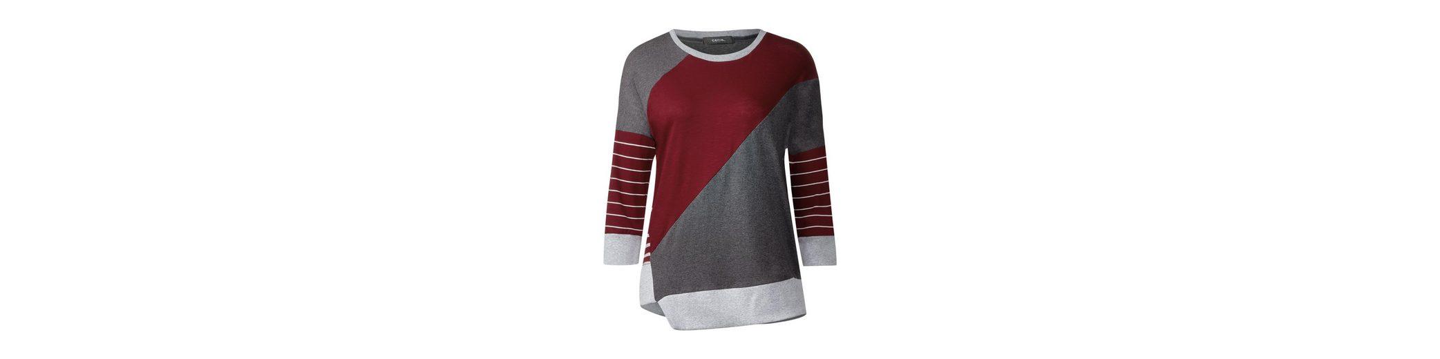 CECIL Smartes Patchwork Shirt Besuchen Online-Verkauf Neu sC2mb