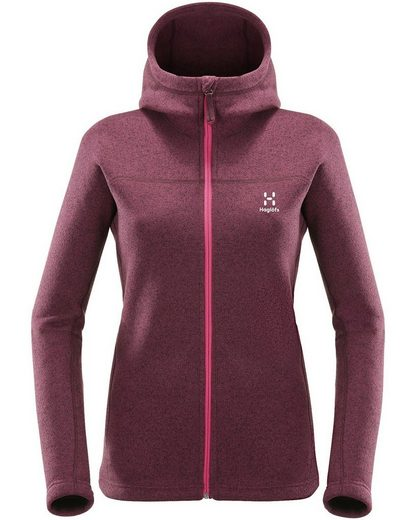 Haglöfs Fleecejacke Swook Hood Women