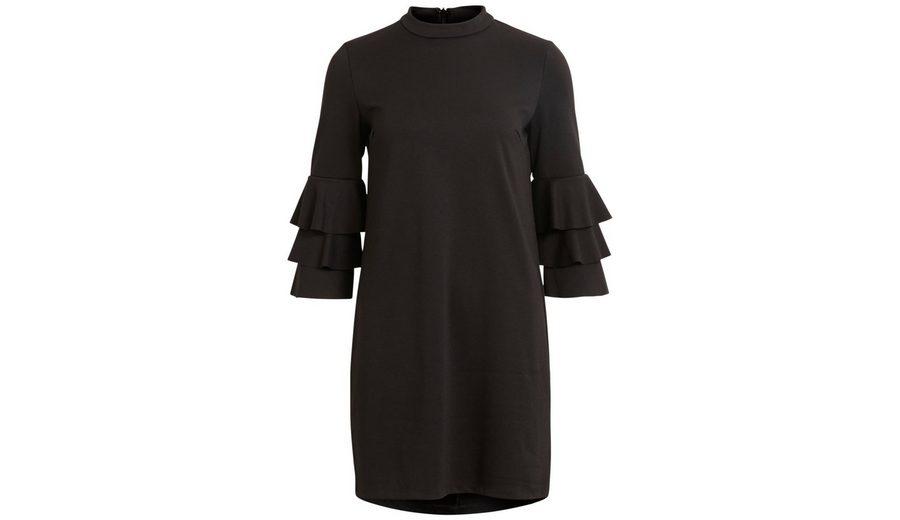 In Deutschland Online Vila Rüschenärmel Kleid Countdown Paket Online GQamArh8