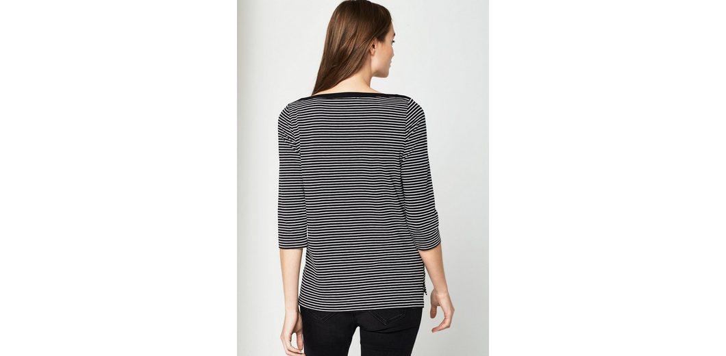 Billig Verkaufen Low-Cost Besuchen Verkauf Online COMMA Jerseyshirt mit Streifenmuster Spielraum Besuch Verkauf Amazon Sehr Billig Günstig Online ShCoO9