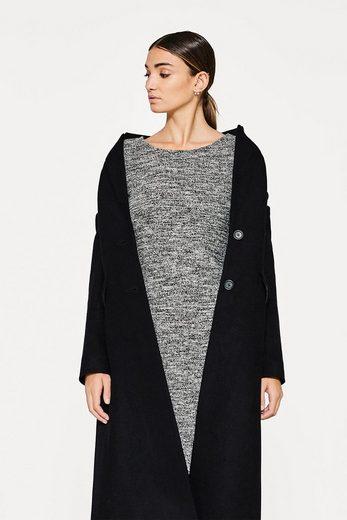 ESPRIT Jersey-Kleid mit Pfeffer- und Salz-Struktur