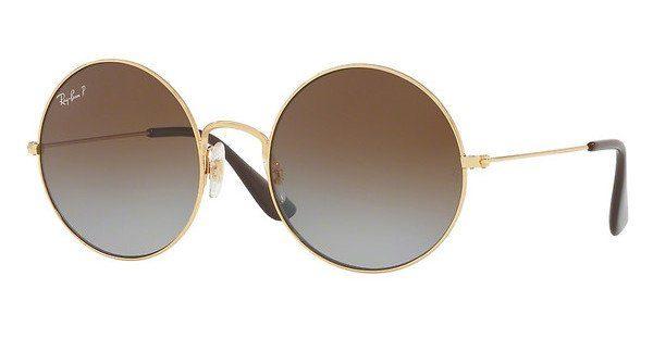 RAYBAN Damen Sonnenbrille Ja-Jo, Silber (Silver/Red), 50