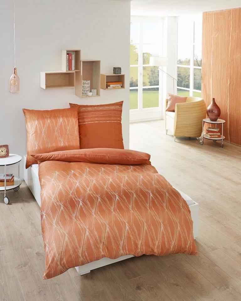 bettw sche kaeppel ventura mit geschwungenen linien. Black Bedroom Furniture Sets. Home Design Ideas