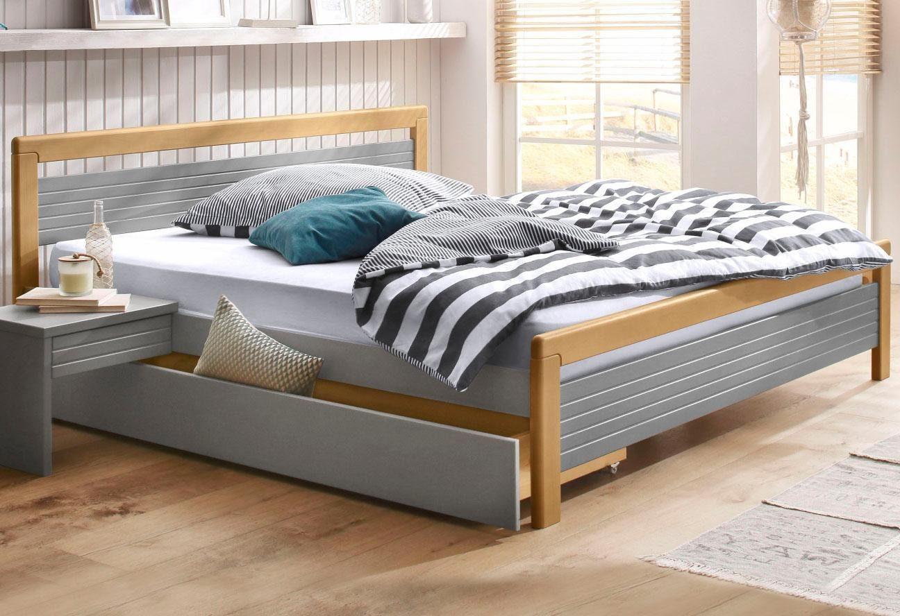 HOME AFFAIRE Bett CAPRE - Einrichtungsbeispiel