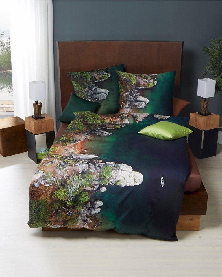 bettw sche kaeppel from above mit landschafts motiv online kaufen otto. Black Bedroom Furniture Sets. Home Design Ideas