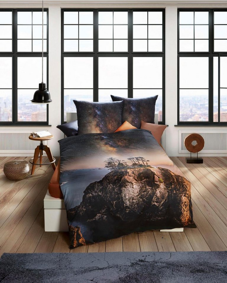 bettw sche kaeppel twilight mit landschafts motiv online kaufen otto. Black Bedroom Furniture Sets. Home Design Ideas