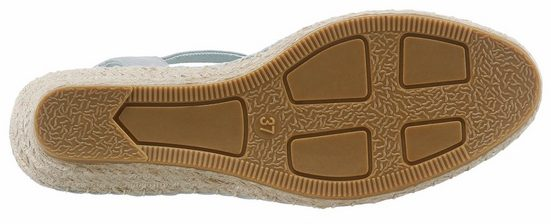 S.oliver Red Label Espadrille, With Fashionable Star Print