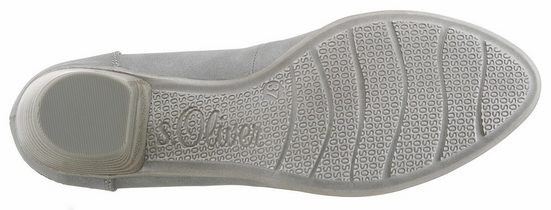S.oliver Red Label Pumps With Logo Embossing On The Heel