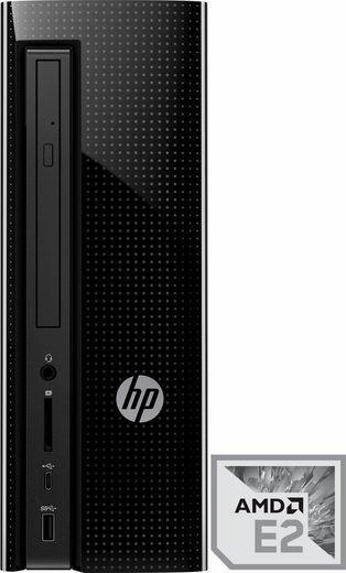 HP Slimline Desktop 260-a167ng PC, AMD Quad-Core, 4096 MB DDR3L SDRAM, 500 GB Speicher