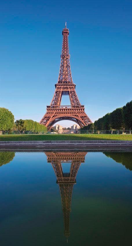 Fototapete, Rasch, »Eiffelturm«