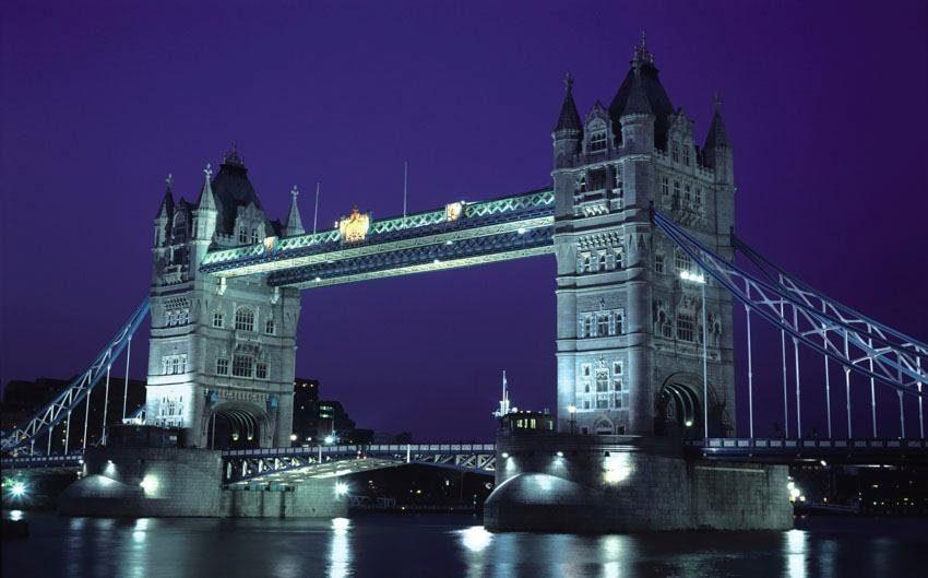 Fototapete, Rasch, »London Bridge«