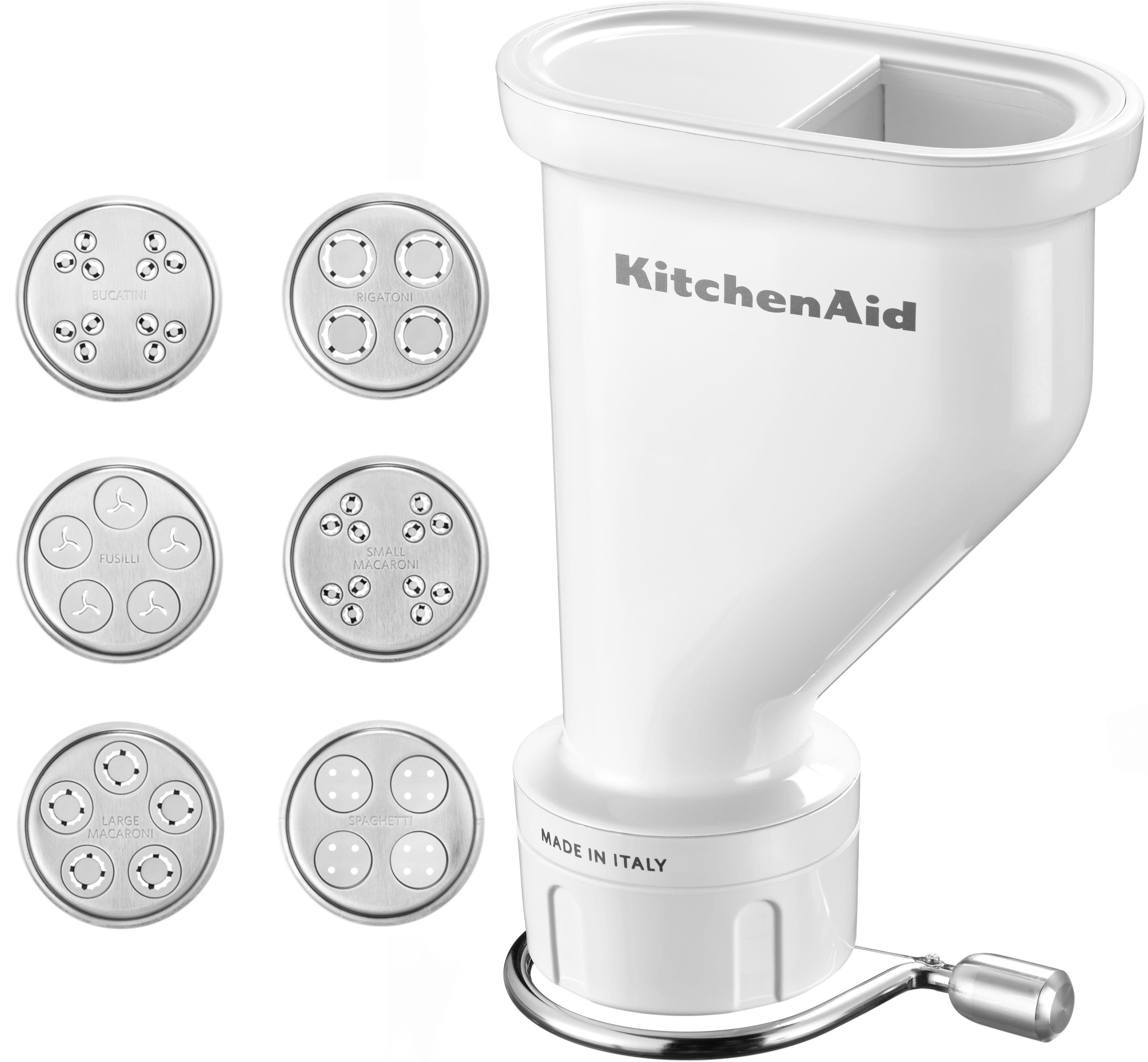 KitchenAid® Nudelvorsatz Gourmet-Röhrennudelvorsatz 5KSMPEXTA, Zubehör für die KitchenAid-Küchenmaschine
