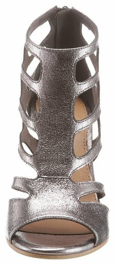 s.Oliver RED LABEL Sandalette, mit praktischem Fersenreißverschluss