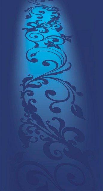 Fototapete Rasch  blaues_Ornament bunt,mehrfarbig | 04000441838305