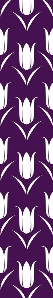Fototapete, Rasch, »Tulpen lila« - broschei