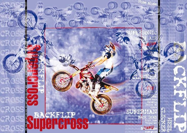 Fototapete, Rasch, »Supercross«