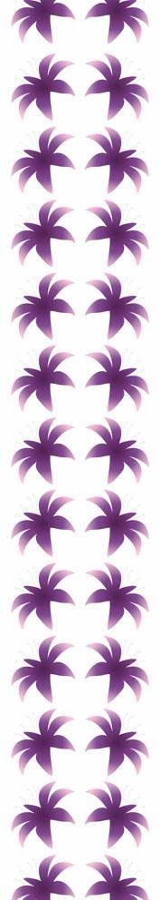 Fototapete, Rasch, »Blüten lila« - broschei