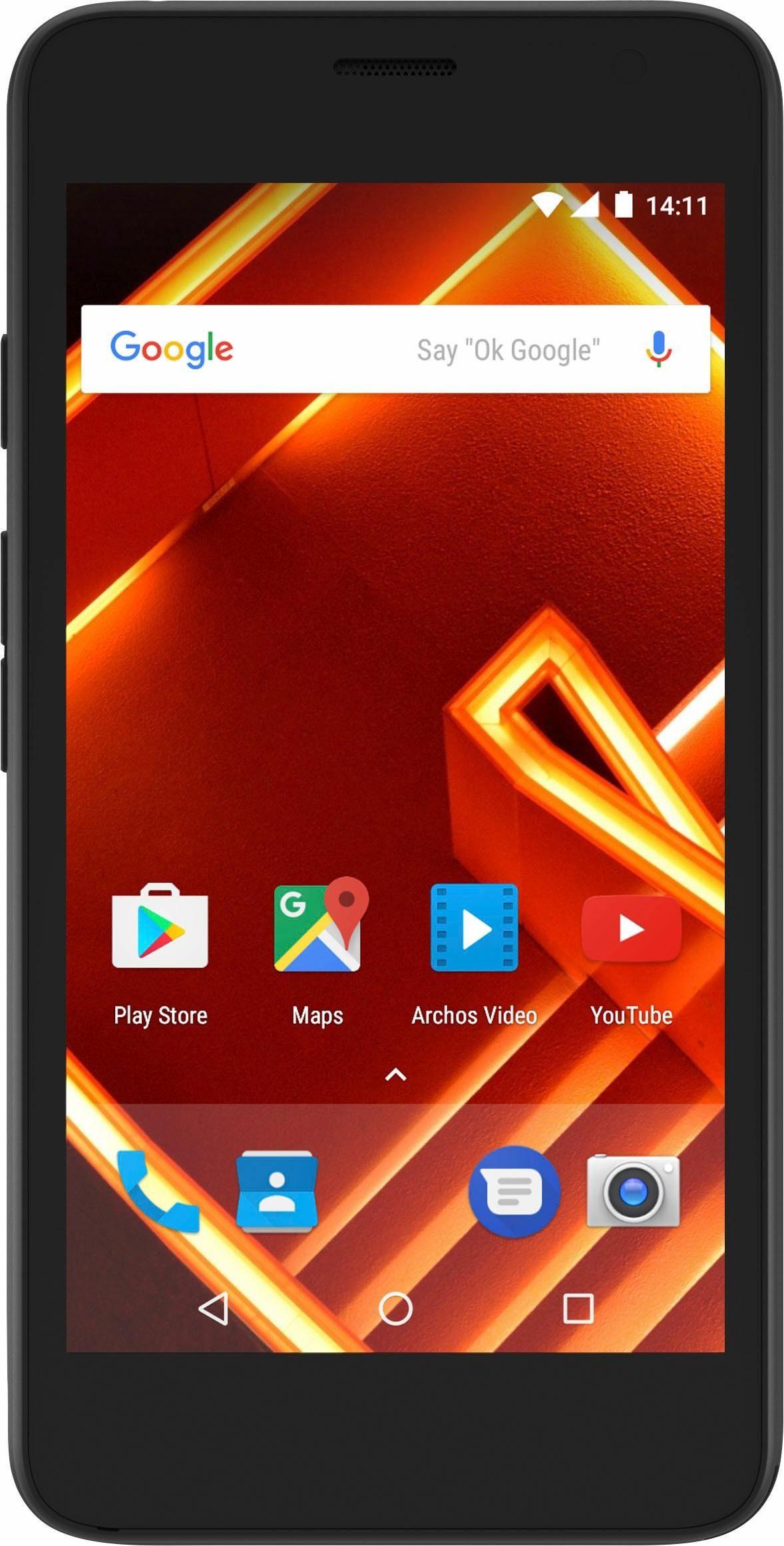 Archos Access 45 4G Smartphone (11,4 cm/4,5 Zoll, 8 GB Speicherplatz, 5 MP Kamera)