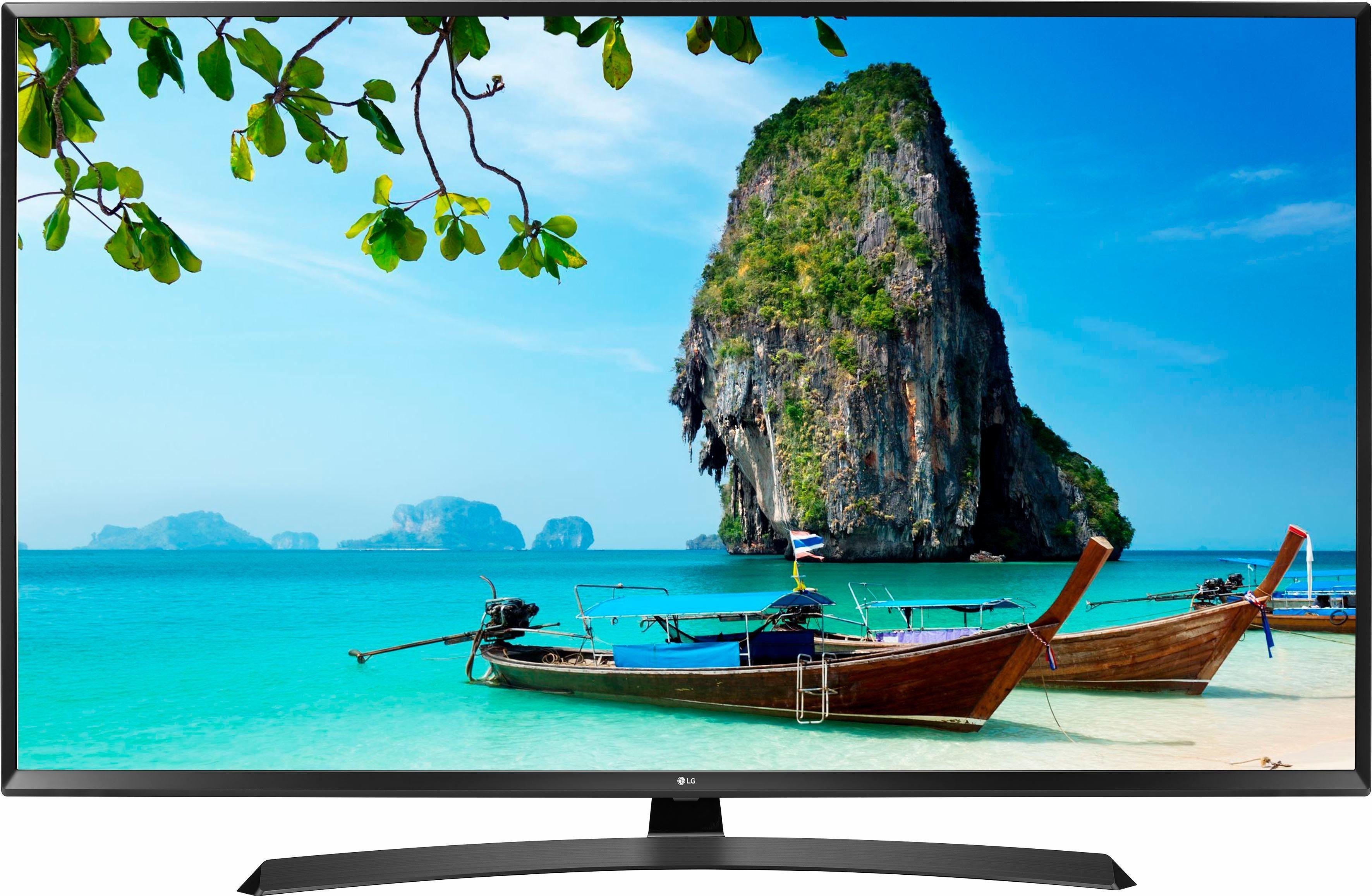 LG 55UJ635V LED-Fernseher (139 cm/55 Zoll, 4K Ultra HD, Smart-TV, 36 Monate Garantie)