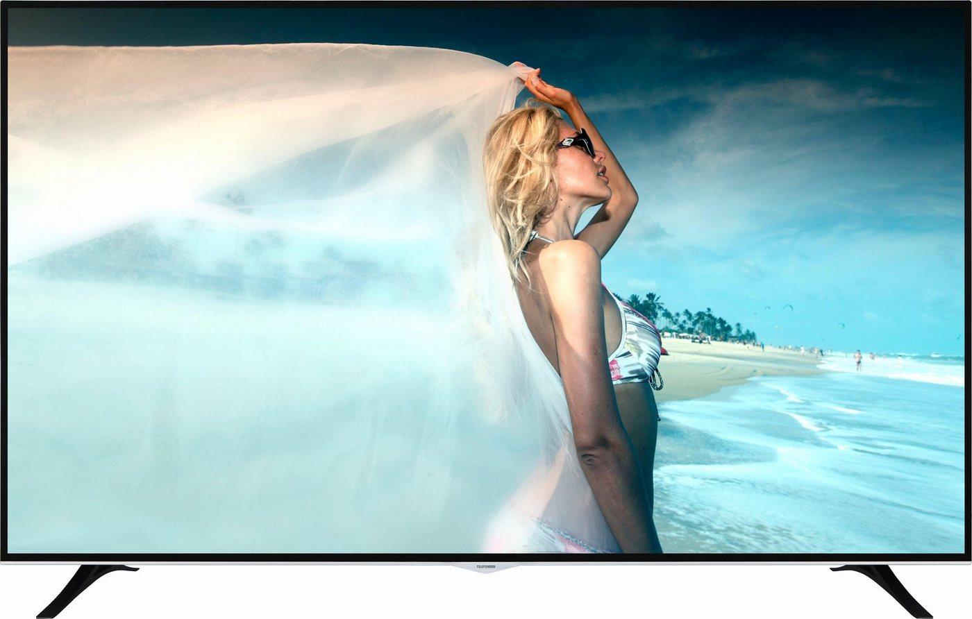 Telefunken D75U400T4CW LED-Fernseher (190 cm/75 Zoll, 4K Ultra HD, Smart-TV)