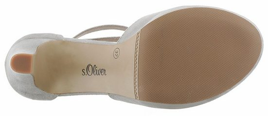s.Oliver RED LABEL Sandalette, in edler Linie