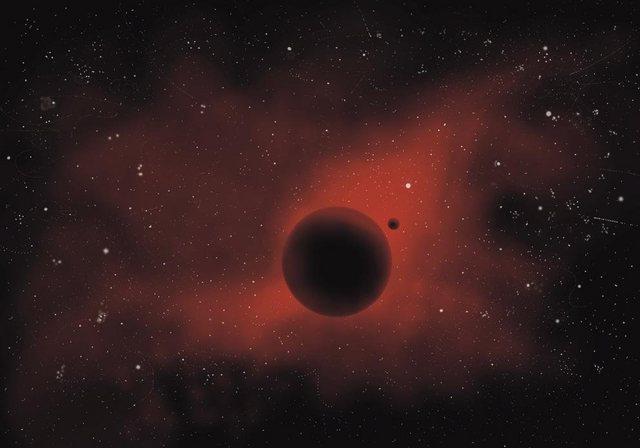 Fototapete Rasch  roter Planet bunt,mehrfarbig | 04000441892703