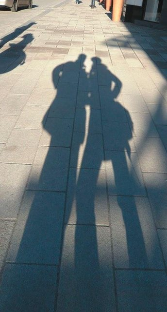 Fototapete Rasch  Schatten bunt,mehrfarbig | 04000441846607