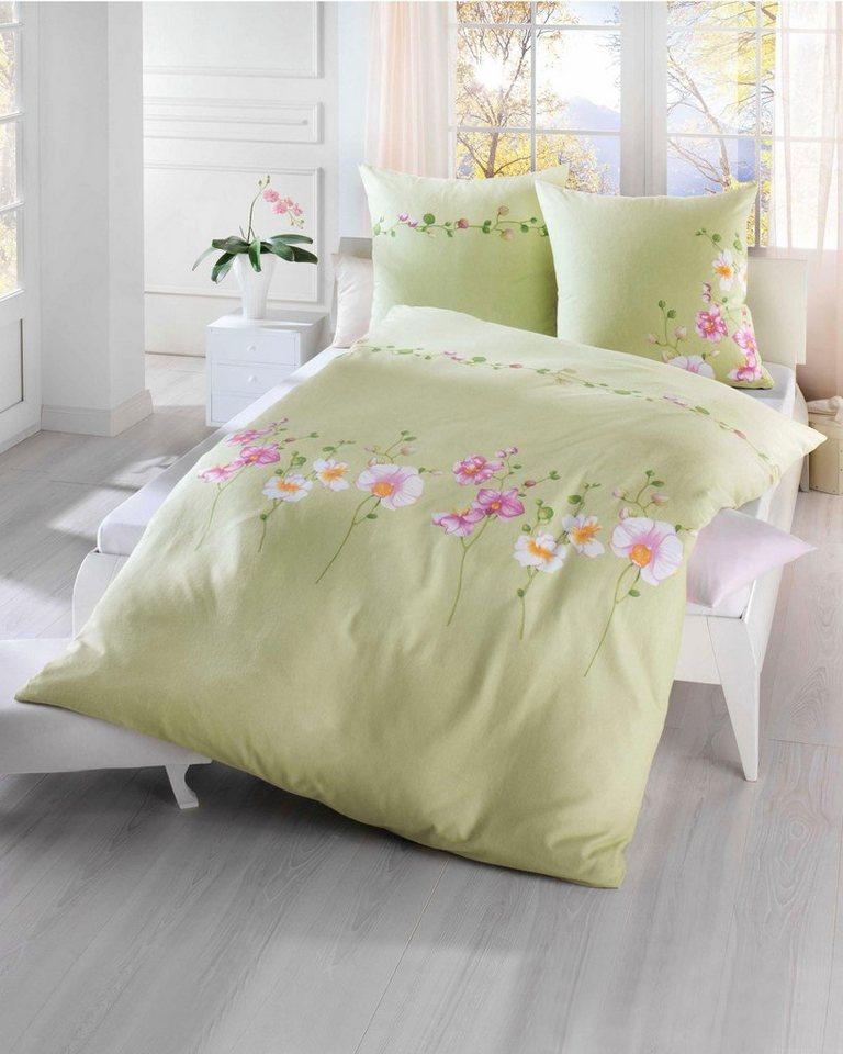 bettw sche kaeppel wild orchide mit tollem orchideen motiv online kaufen otto. Black Bedroom Furniture Sets. Home Design Ideas