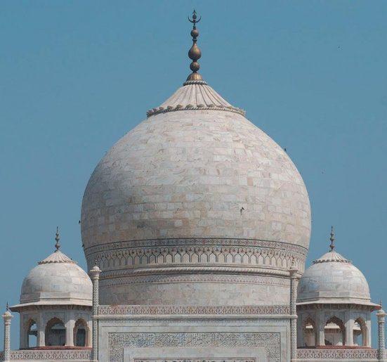 Fototapete »Taj Mahal«, mehrfarbig, FSC®