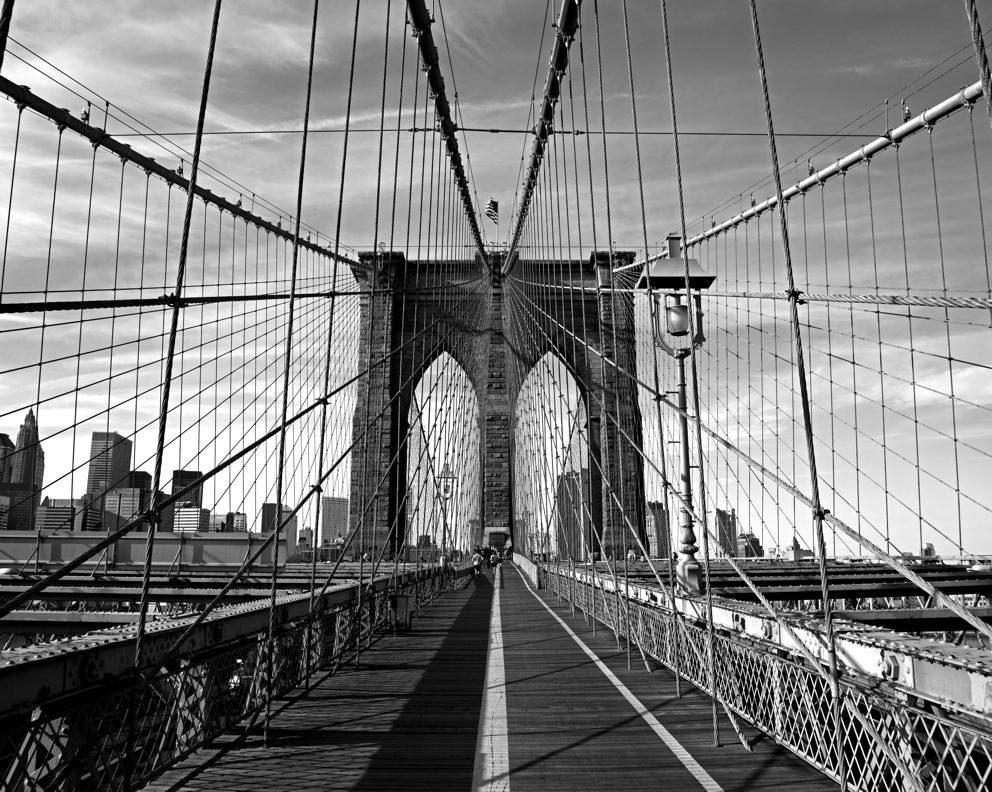 Fototapete, Rasch, »Brücke«