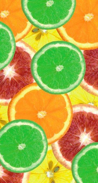 Fototapete Rasch  Zitrusfrüchte bunt,mehrfarbig | 04000441891355