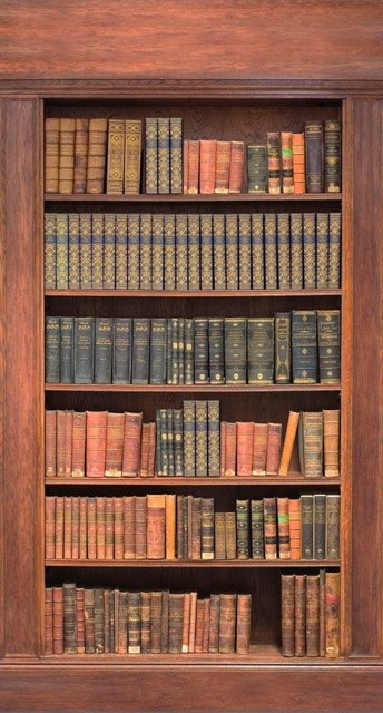 Fototapete Rasch  Bücherregal bunt,mehrfarbig | 04000441891959
