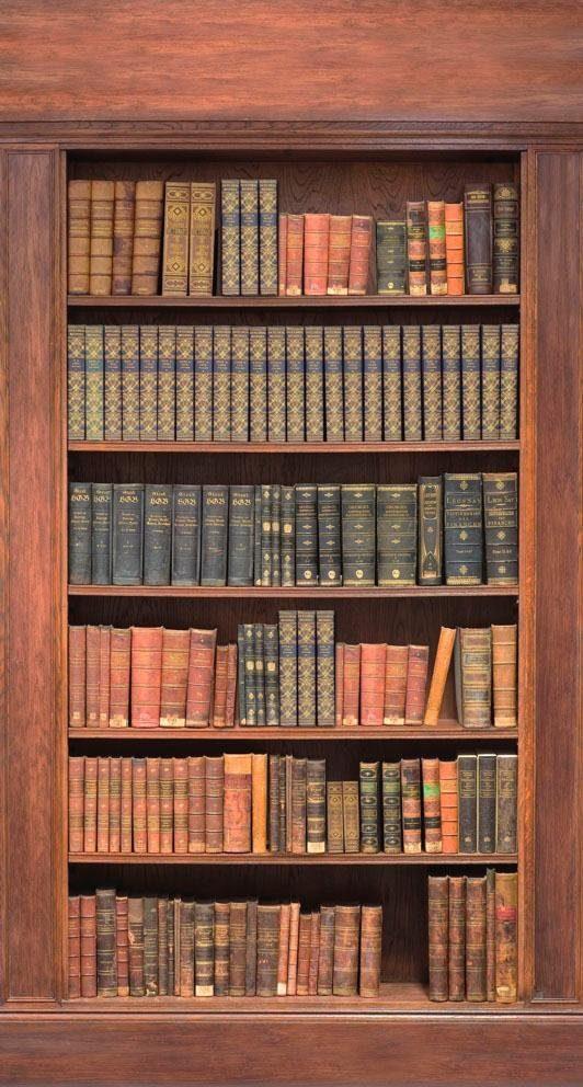 Fototapete, Rasch, »Bücherregal«