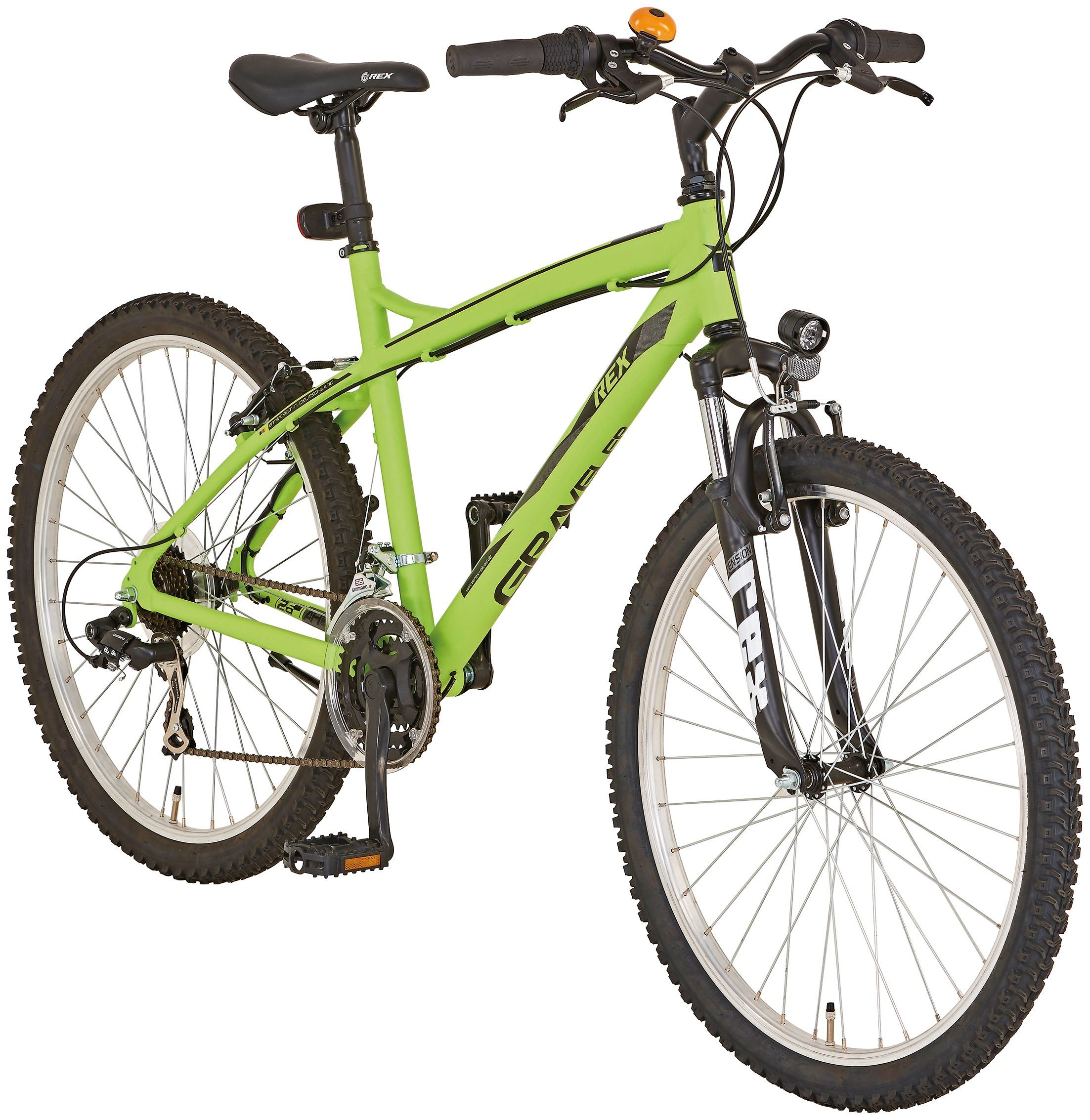 REX All-Terrain-Bike »GRAVELER 8.3«, 26 Zoll, 21-Gang