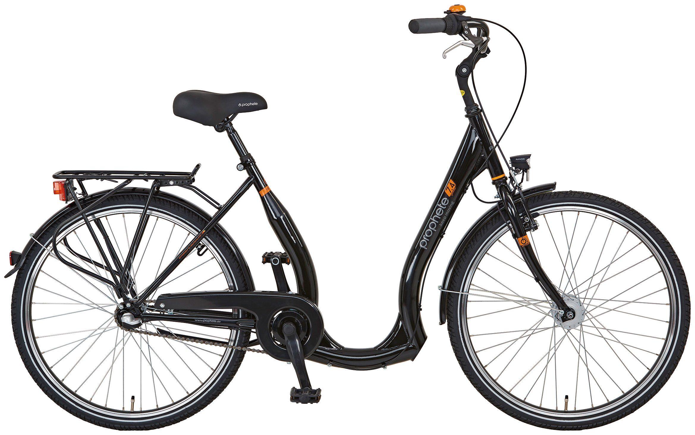 PROPHETE Citybike Tiefeinsteiger »GENIESSER 7.4«, 26 Zoll, 3-Gang