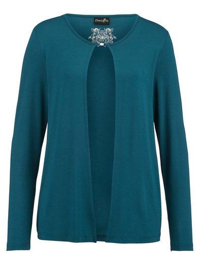 Dress In Shirtjacke im klassischen Stil